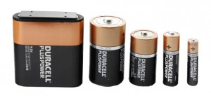 Gamme piles Duracell
