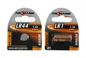 Piles LR44 LR1 Ansmann