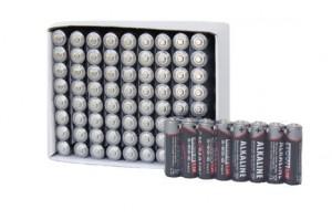 Piles industrielles boîte