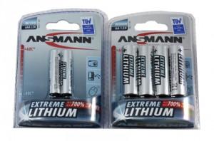Piles lithium Ansmann